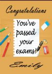 Personalised Congratulation on Passing Your Exams Card 4
